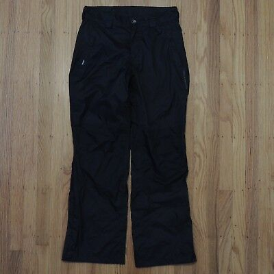 Helly Hansen Tech Weatherproof Pants Womens Black Packable Size Small