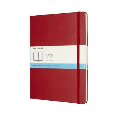 Moleskine Red Dotted XL Colour Hard Cover Notebook