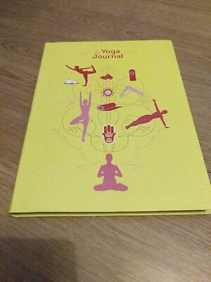The Yoga Journal by Chronicle Books Softback well being practice diary record