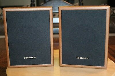 Vintage Technics Speakers Model SB S16 30W Bookshelf Speaker 8 Tall No Wires