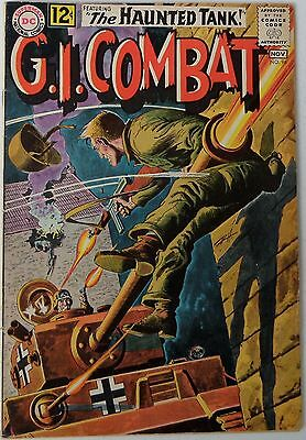 G.I. Combat #96 (Oct-Nov 1962, DC), VG condition, Haunted Tank, grey tone cover