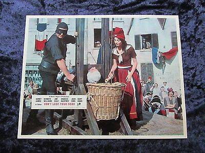 CARRY ON DON'T LOSE YOUR HEAD  lobby card #8 CHARLES HAWTREY