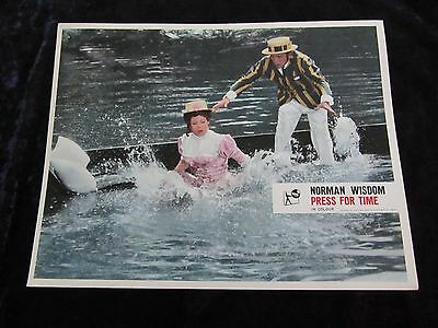 PRESS FOR TIME lobby card #8 NORMAN WISDOM