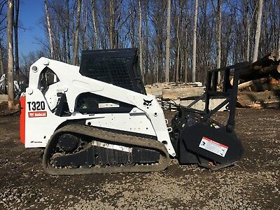 2009 Bobcat T320 with FRC60 Forestry Mulcher