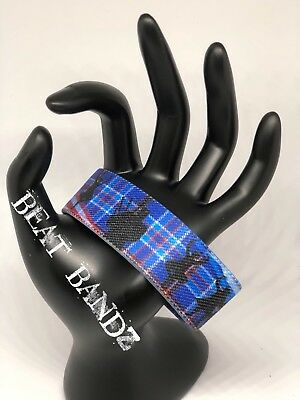 Scottish American Reversible Elastic Wristband