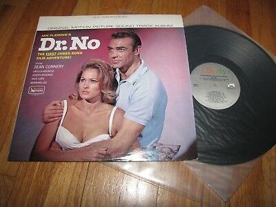 James Bond Dr. No Original Motion Picture Sound Track Album - United Artists Lp