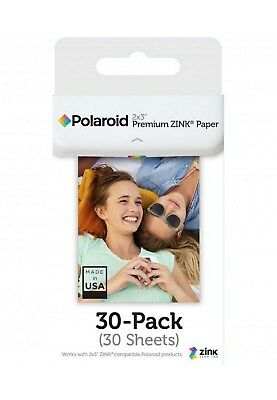 Paper Polaroid Premium Zink Paper Pack of 30 Sheets