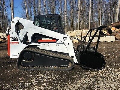 "2006 Bobcat T300 with 60"" Forestry Mulcher"