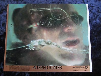 Altered States lobby cards - William Hurt, Ken Russell - mini set of 8