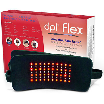 Pain Relief Light Therapy Led Infrared System DPL FlexPad Muscle Knee Neck Back