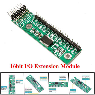 MCP23017 I2C interface 16bit I/O Extension Module Pin Board IIC to GIPO Convert