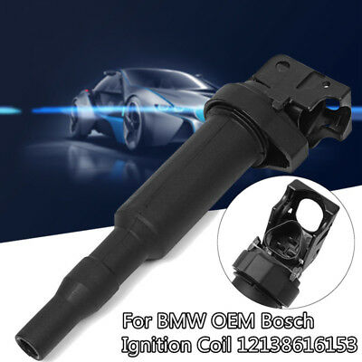 Ignition Coil With Connector Boot For BMW 320i 325Ci 325i 328i Bosch 12138616153