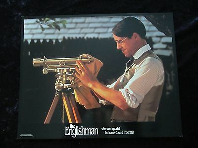 THE ENGLISHMAN THAT WENT UP THE HILL BUT CAME DOWN lobby cards HUGH GRANT