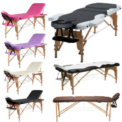 Folding Massage Table Beauty Salon Tattoo Therapy Couch Bed Facial Treatment SPA