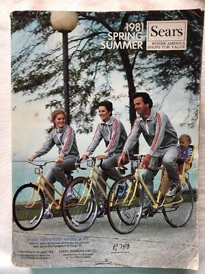 Vintage Sears Sprint & Summer Catalog 1981 Full Size Wish Book 1503 Pages