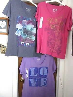 XMAS GIFTS! Brand New! Chic, Soft & Comfy T-Tops Small-XXL 3 Colors & Graphics