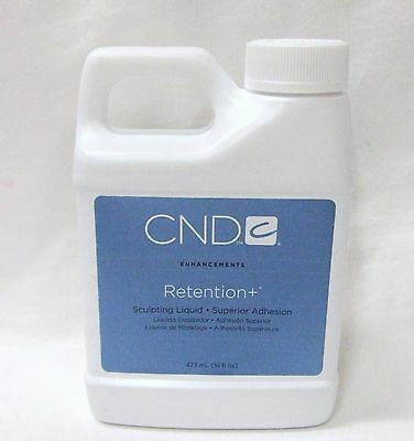 CND Creative Nail Design RETENTION SCULPTING LIQUID 16oz/473ml