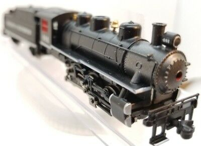 N Bachmann 0-6-0 Durango & Silverton Loco (loose linkage left side) (Tested)
