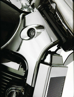 Show Chrome Neck Covers #82-201 Suzuki Boulevard C50/Boulevard M50/Volusia 800