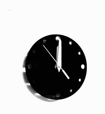 Small Round Wall Clock In Black