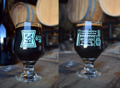 The 2017 Bottle Logic Fundamental Observation Fo B3 Bba Stout Collectable Glass