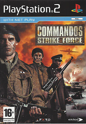 Commandos strike force for playstation 2 ps2 passion for games.