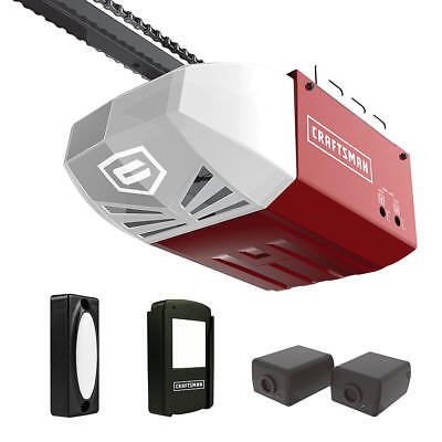 Craftsman 1/2 HP AC Series 100 Chain Cable Drive Garage Door Opener System Rail