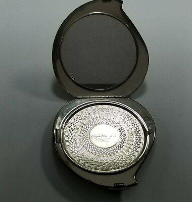 Sterling Silver Elgin Americana Compact Case W/ Mirror #BX2-SSCC23