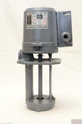 "1/8 HP Machinery Coolant Pump, 220V/440V, 3PH, Shaft Length 5"" (130mm) FLAIR"
