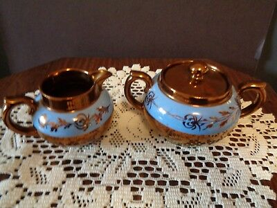 Vintage Gibsons Sugar and Creamer Set Made in England