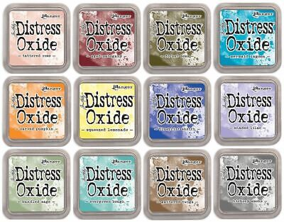 Tim Holtz Distress Oxide Ink Pads Release 3
