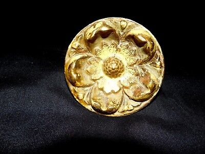 Ornate Solid Bronze / Brass Art Nouveau Door Pull Made In Spain