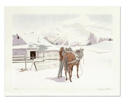 Three 3 William Nelson Signed Limited Edition Lithographs Artist Horse Print Art