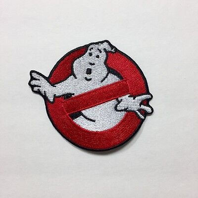 Ghostbusters Movie No Ghosts Logo Embroidered Patch 3.5""