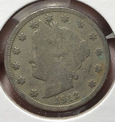 1912 Liberty V Nickel. Nice Collector Coin For Your Collection.10