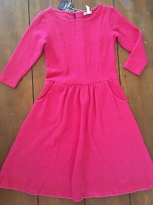 NWT Matilda Jane Women's Friends Forever Virginia Dress Pink Size XS