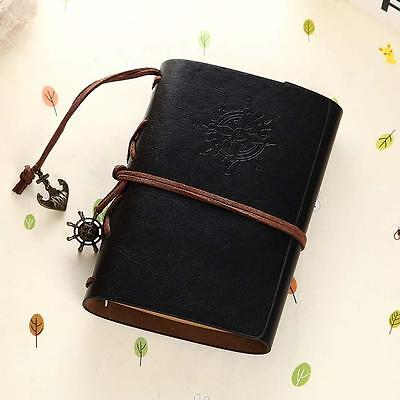Vintage Classic Retro Leather Journal Travel Notepad Notebook Blank Diary Tи