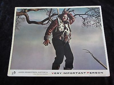 VERY IMPORTANT PERSON lobby card #6 JAMES ROBERTSON JUSTICE