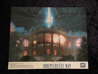 INDEPENDENCE DAY lobby cards  - set of 9 cards - BILL PULLMAN, JEFF GOLDBLUM