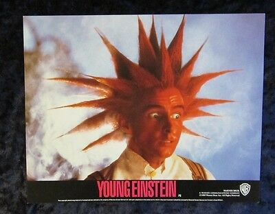 YOUNG EINSTEIN lobby cards YAHOO SERIOUS mini UK set of 8 stills