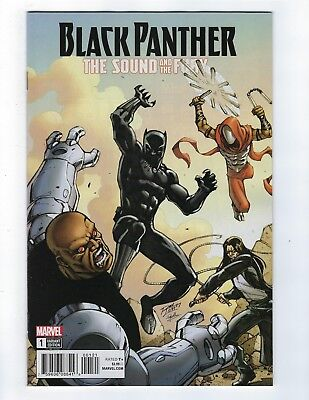 Black Panther: The Sound and the Fury # 1 Variant Cover NM