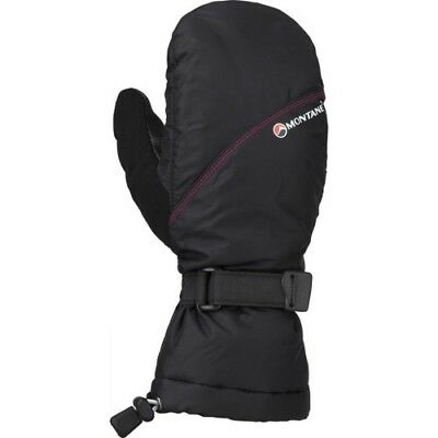 Montane Extreme Womens Gloves Outdoor Mitts - Black All Sizes