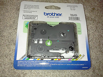 Brother TZ-131 P-touch Label Tape  ptouch TZe131, TZ131