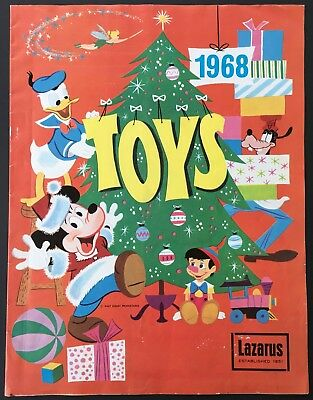 1968 Lazarus Christmas Toy Catalog - Mickey Mouse Disney Cover