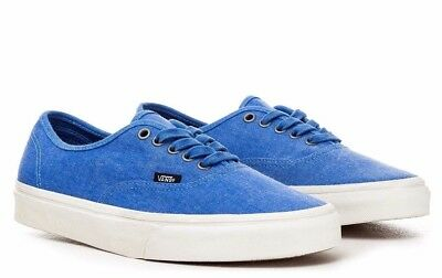 b04c17287e7781 VANS AUTHENTIC (OVERWASHED) Blue True White Men s Skate Shoes NEW ...