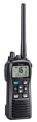 Icom M73 Compact Handheld VHF Radio 6/1 Watt Transmitter Basic Version IC-M73