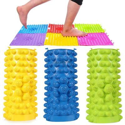 Acupressure Foot Massage Mat Massager Acupuncture Relieves Stress Aches HE8Y