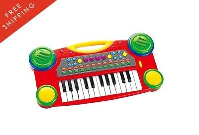 Electronic Organ Music Keyboard For Kids 16 Educational Musical Toys New