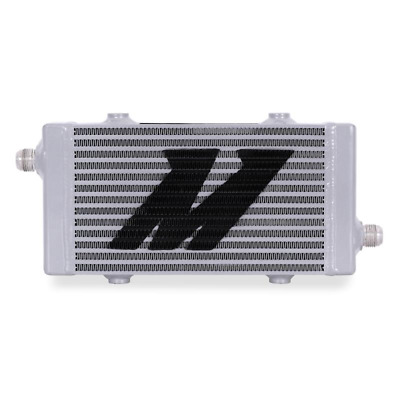 Mishimoto Universal Cross Flow Bar & Plate Oil Cooler Small - Silver