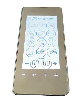 12 Mode Full Body Pain-Relieve  Electric Pulse Massager Digital LED Touch Screen